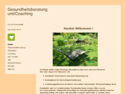 Gesundheitsberatung Coaching Nicole Streckwaldt