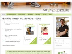 Alexander Schütt - Personal Trainer und Gesundheitscoach