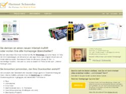 Ihr Partner für Web & Print Hartmut Schwenke