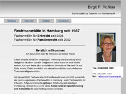Rechtsanwältin Birgit P. Roßius