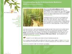 MBSR - Stressbewältigung durch Achtsamkeits-Meditation