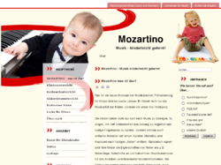 Klavierunterricht Mozartino. Musik - kinderleicht gelernt!