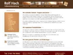 rolf hach gmbh fu bodenbearbeitung schleifen parkett. Black Bedroom Furniture Sets. Home Design Ideas