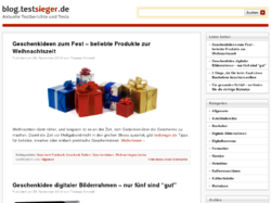 Testsieger Blog