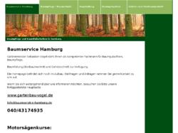Baumservice Hamburg - Baumschnitt & Baumfällung von Gartenbau Vogel