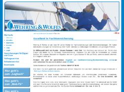 Wehring & Wolfes GmbH - Makler für Yachtversicherungen