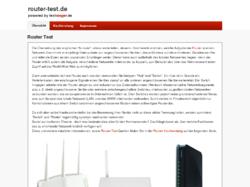 Router Testberichte