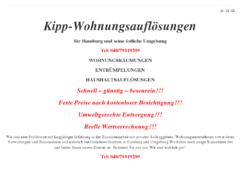 Kipp-Wohnungsauflösungen