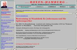 Bahrenfelder SV eV Boxabteilung