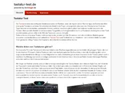 Tastatur Test