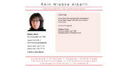 Fachanwältin für Familienrecht Wiebke Alberti