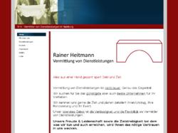 Rainer Heitmann -Vermittlung von Dienstleistungen-