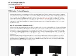 TFT-Monitor Testsieger