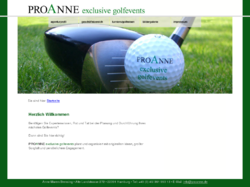 PROANNE exclusive golfevents