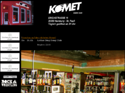 KOMET Musik Bar Home