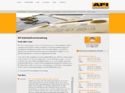 AFI GmbH - Arbeitsbühnenvermietung