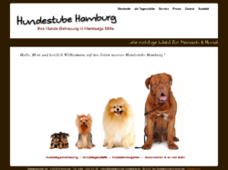 Ihre persönliche Hundebetreuung in Hamburg Mitte... unsere Hundestube Hamburg
