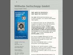Wilhelm Sellschopp GmbH Briefmarkenhandel
