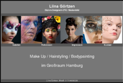 Liina Görtzen - Hair & Make-Up Artist/ Maskenbildnerin