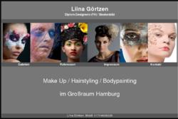 Liina Görtzen - Hair & Make-Up Artist/ Maskenbildnerin