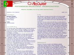 O Pescador - portugiesische Spezialitäten in Hamburg