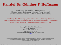 Kanzlei Dr. Günther F. Hoffmann Steuerberater + Vereid. Buchprüfer