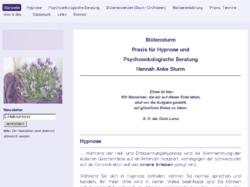 Blütensturm - Praxis für Hypnose u. Psychoonkologische Beratung