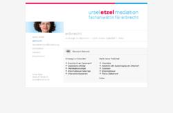 Ursel Etzel, Fachanwältin für Erbrecht und Mediatorin