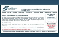 Sievers Steuerberatung Hamburg Schnelsen