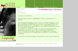 Alsterpfoten Hundebetreuung in Hamburg