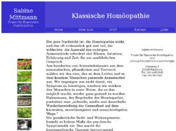 Sabine Mittmann Praxis für Klassische Homöopathie und Lösungsfokussierte Kurzzeittherapie