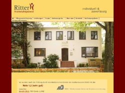 Individuell und Zuverlässig - Pflegedienst Ritter