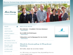 Maria Leisering - Ihr Pflegedienst für alle Fälle
