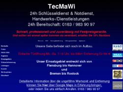 Schlüsseldienst TecMaWi Hamburg ab 39,-€