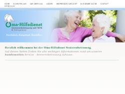Oma-Hilfsdienst Seniorenbetreuung