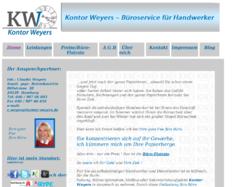 Kontor Weyers Büroservice für Handwerker in Hamburg
