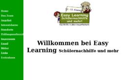 Easy Learning Schülernachhilfe UG