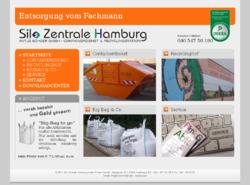 Silo Zentrale Hamburg  Containerdienst & Recyclinghof