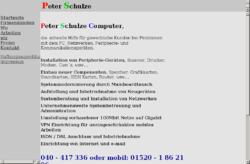 Peter Schulze Computer Hamburg